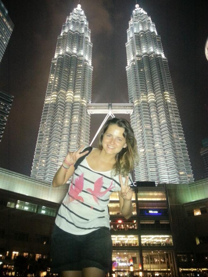 Feliz en Kuala Lumpur con Las Petronas. Malasia