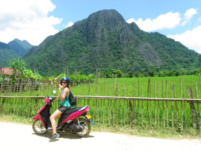 Vang Vieng. Laos