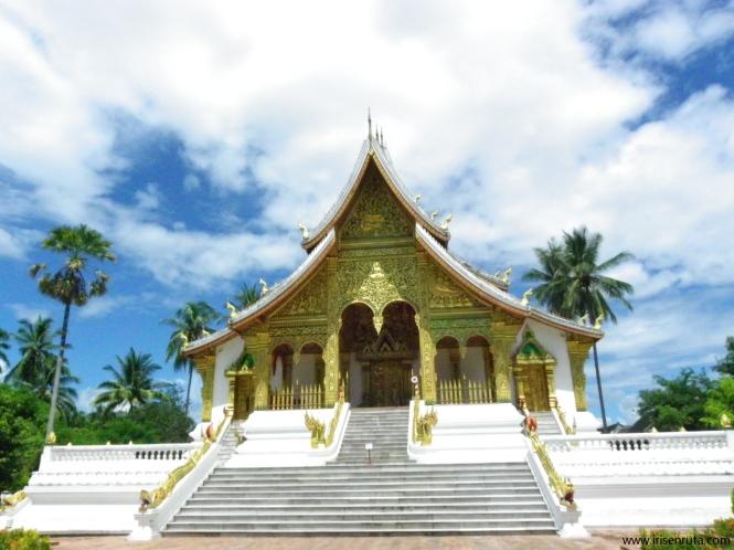 Templo Haw Pha Bang en Luang Prabang
