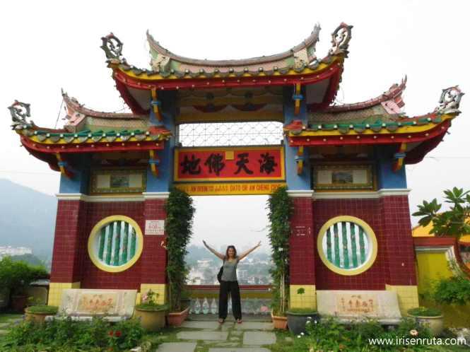 En el templo Kek Lok Si
