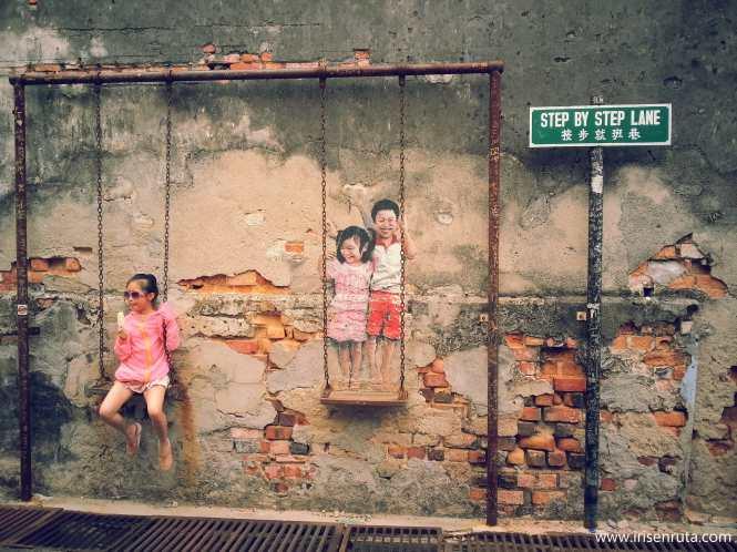 Street art en cualquier rincón